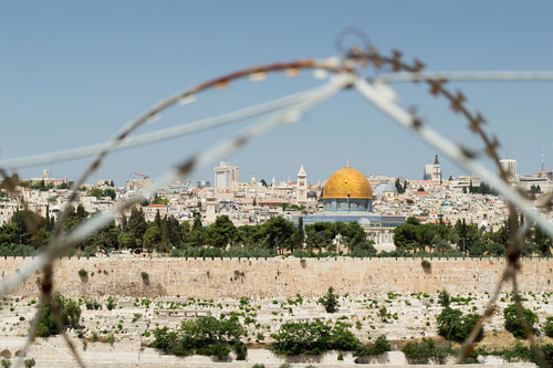 Israel-barbed-wire