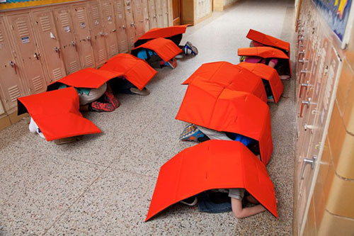 How Do We Protect Children From School Shootings? Bulletproof Blankets, Apparently
