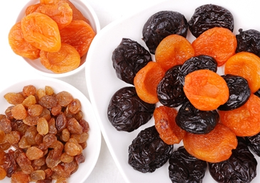 Dried fruits are a Passover staple.