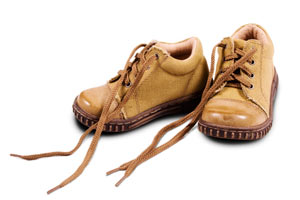 untied-shoe