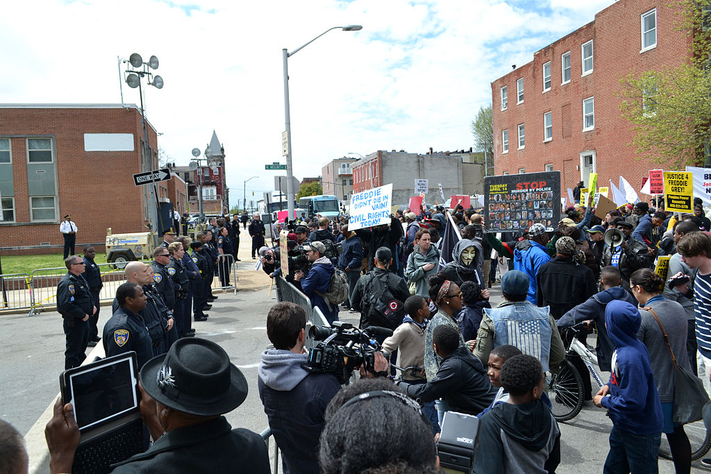 Freddie Gray Protest