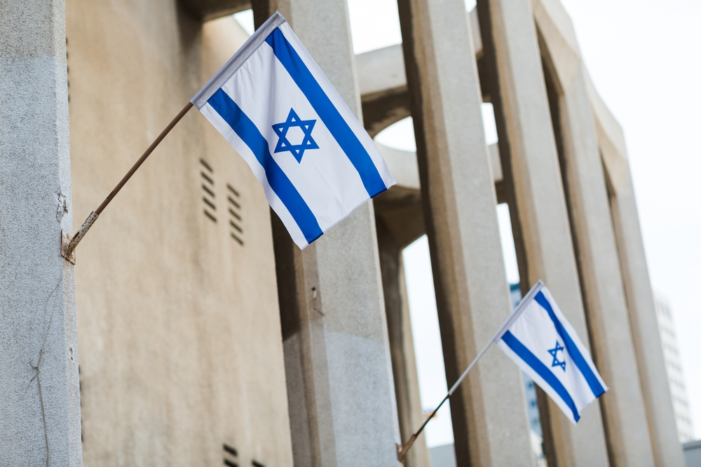 Israel Independence Day Flags