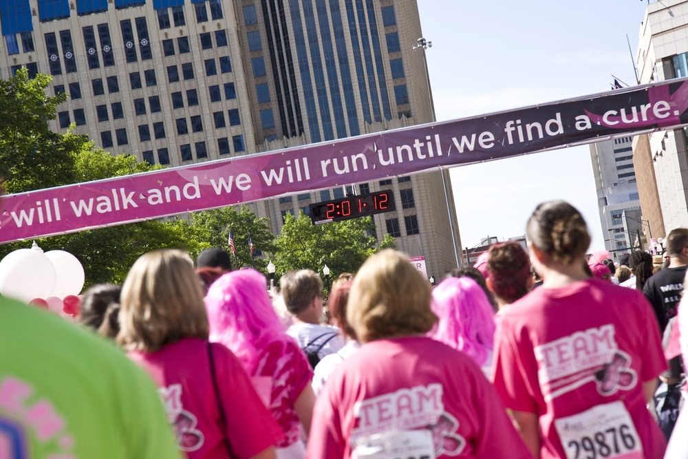 breast cancer marathon