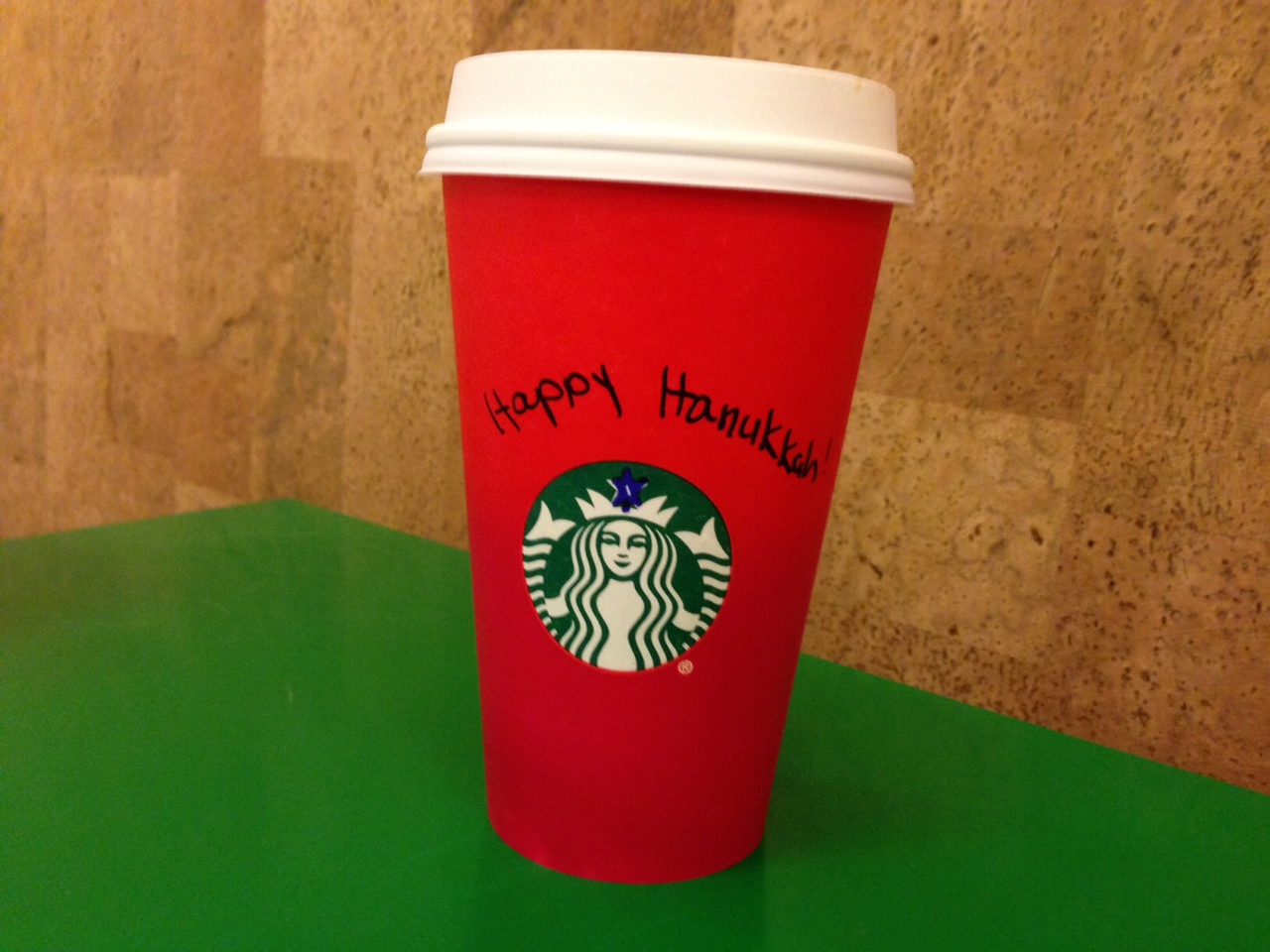 56641bf299d The Jewish Take on This Whole Starbucks Holiday Cup Hoopla – Kveller