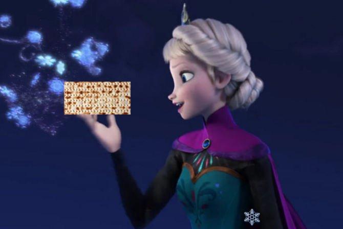 This 'Frozen' Passover Parody Is Kind of the Best Thing Ever