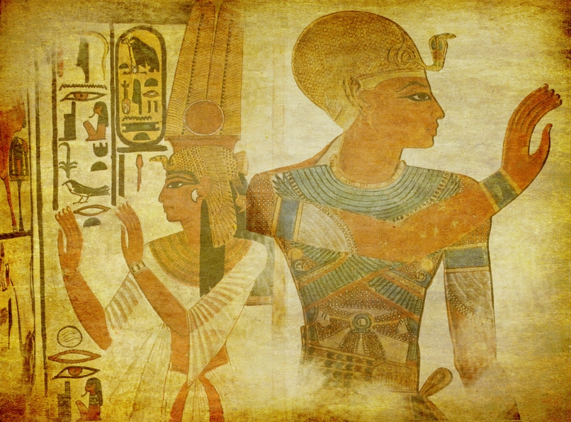 ancient Egypt paintings wallpaper
