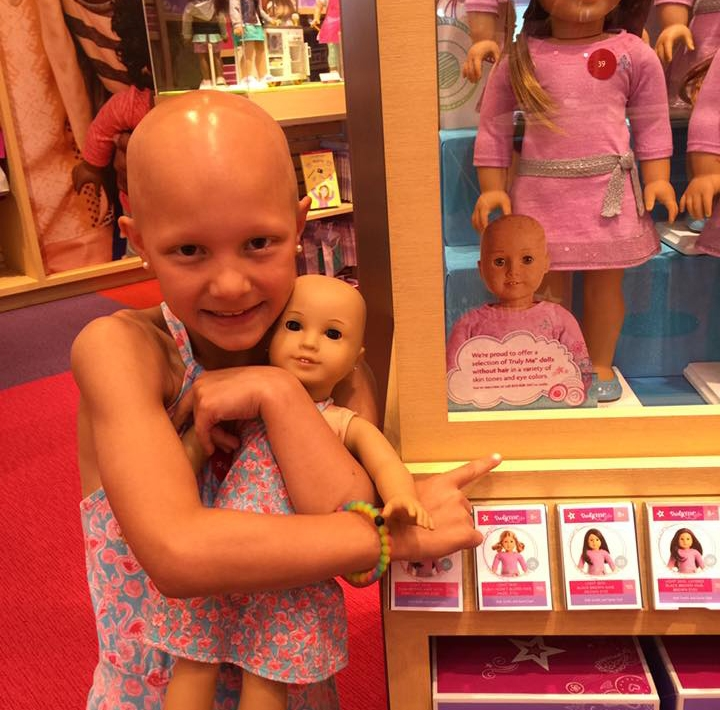 bald american girl doll