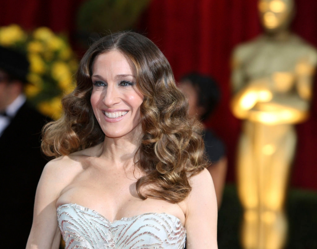 Sarah Jessica Parker promotes her new bridal collection