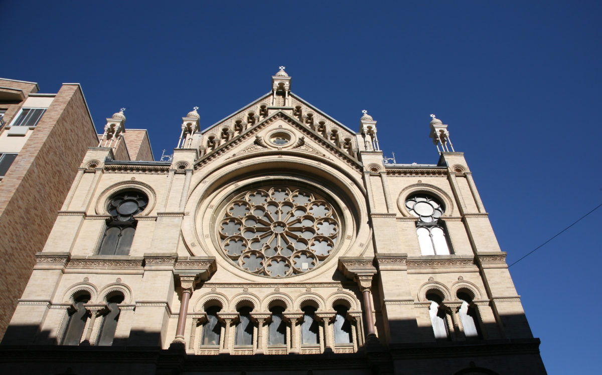 The Eldridge Street Synagogue
