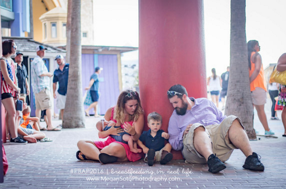 MEGAN SOTO PHOTOGRAPHY/PUBLIC BREASTFEEDING AWARENESS PROJECT