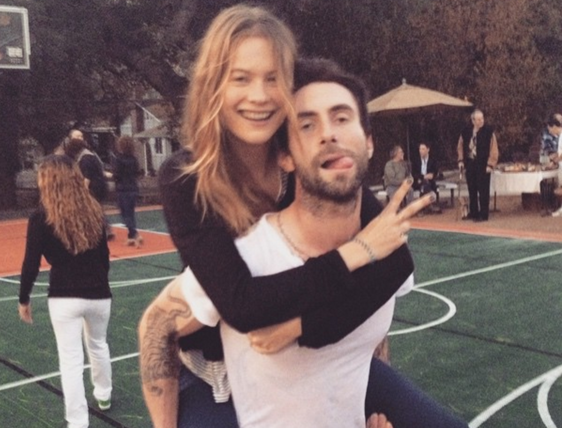 bf42717c1 Adam Levine   Behati Prinsloo Welcome Their First Child – Kveller