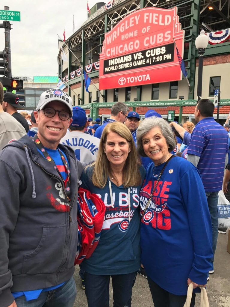 cubs fan world series