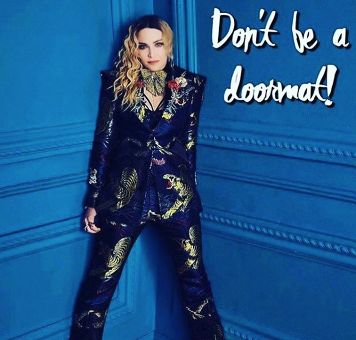 madonna don't be a doorman