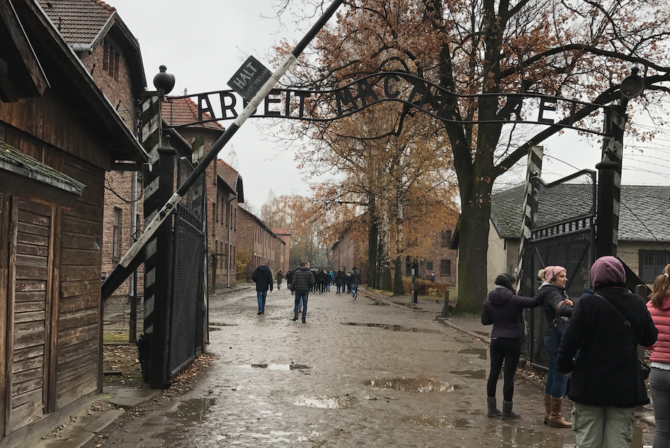 What It's Like to Visit Auschwitz as a Mother