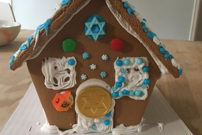 Why I Don't Regret Buying My Kids the Hanukkah Gingerbread House