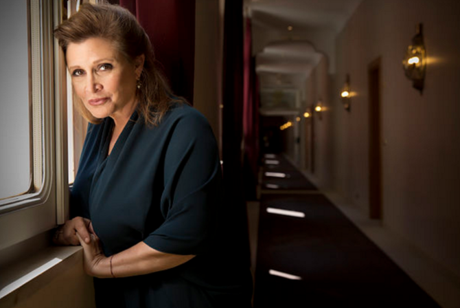 How Carrie Fisher Taught Me to Be a 'Bad Jewish Girl'
