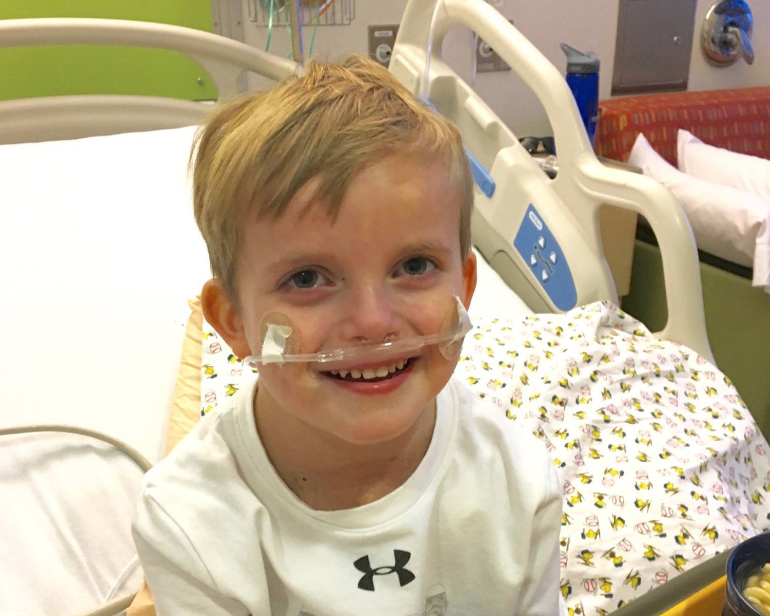 This 5-Year-Old's Reaction to Finding Out He's Getting a New Heart Will Make You Cry