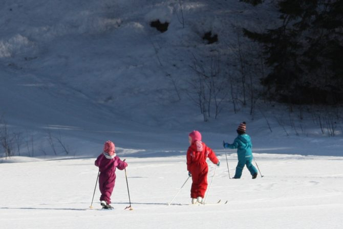What I Realized When My Kids Helped Me Learn How To Ski