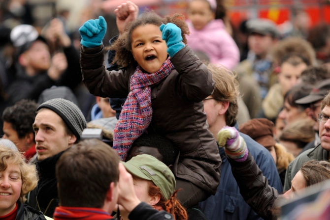 We Moms Must Keep Marching and Protesting—With Our Kids