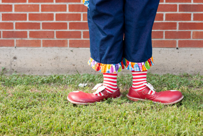 The Clown That Helped Me Get Pregnant (Really!)