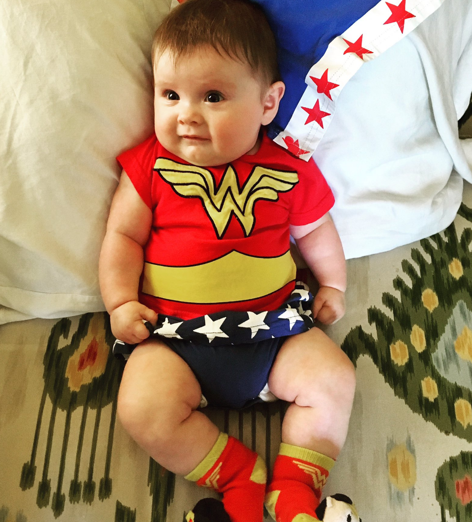 Try Not to Love These Photos of Kids Dressed as Wonder Woman