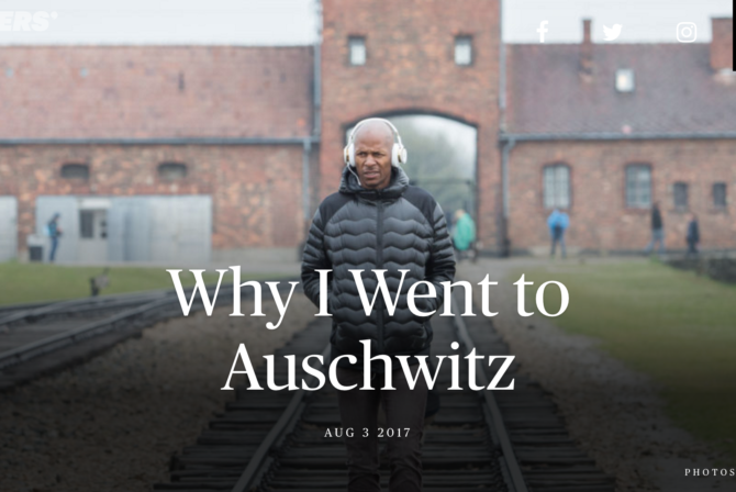 An NBA Player Went to Auschwitz and Changed My Way of Thinking