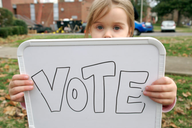 5 Reasons To Take Your Kids to the Polls