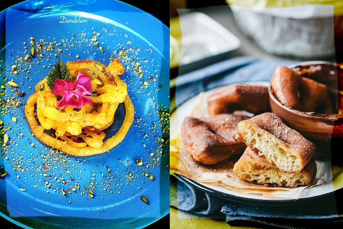 Zalabia and algerian donuts