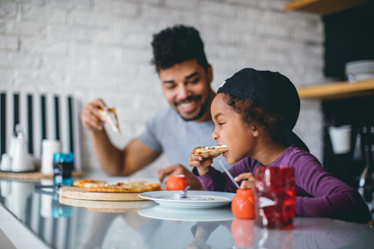 Fun family pizza meal