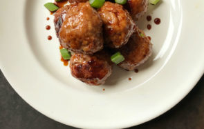ASian meatballs main