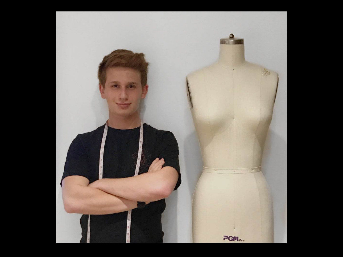 5beed566ef16 This Jewish Teen Uses His Fashion Design Skills to Help the Homeless ...