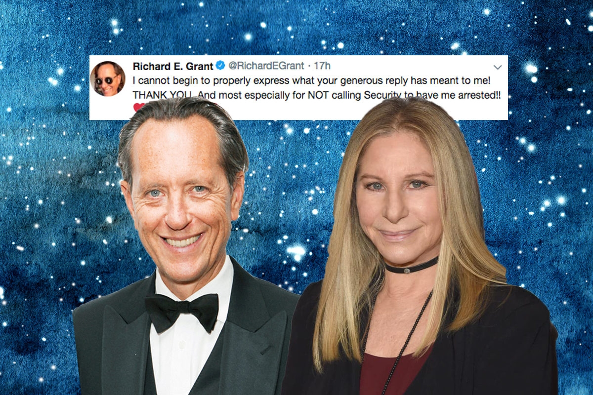 Barbra Streisand Richard Grant