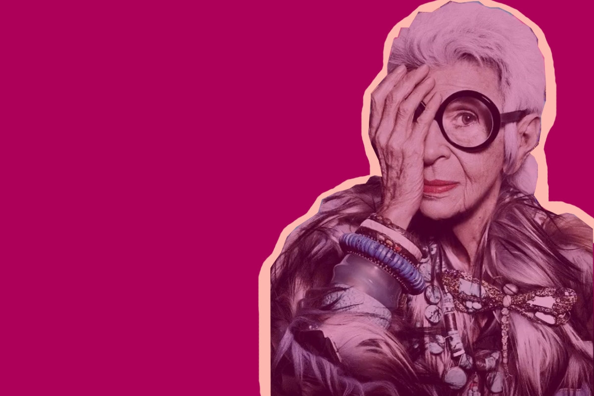 Jewish Fashion Icon Iris Apfel 97 Is Now Officially A Model Kveller