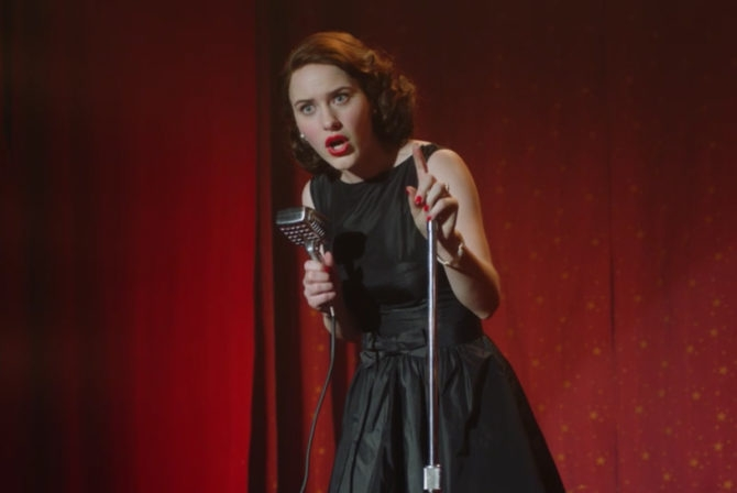 The Secret to Midge Maisel's Marvelousness? She DGAF!
