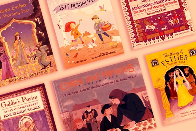 The Story of Purim Isn't Kid Friendly — But These 6 Books Are