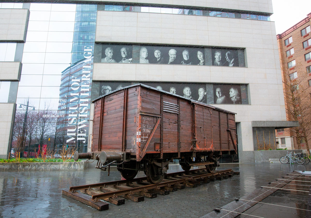 German Freight Car in Front of MJH