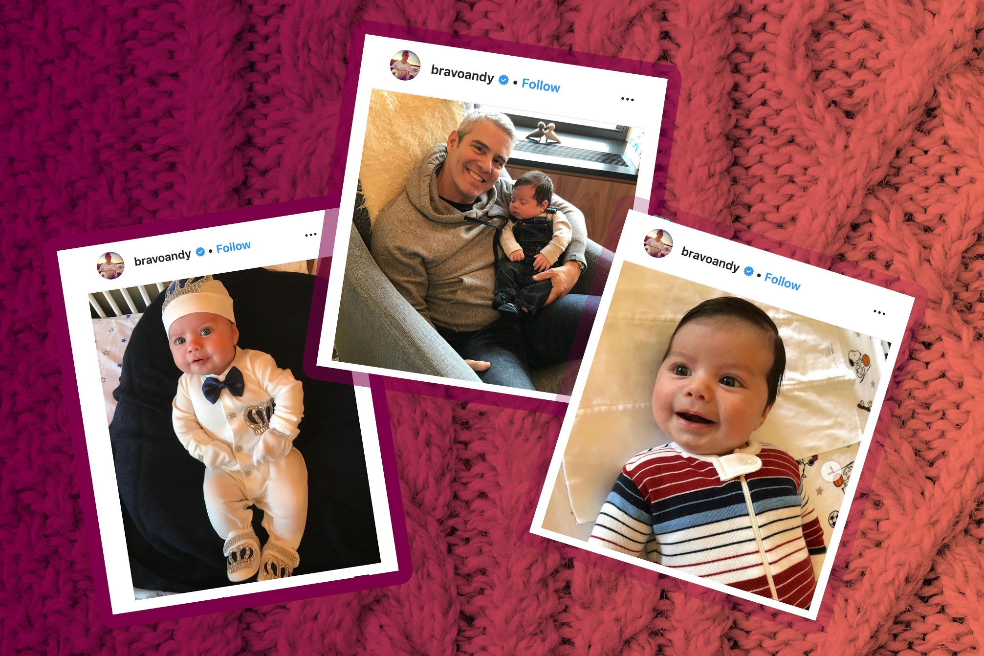 Andy Cohen's Baby's Best Outfits, Ranked