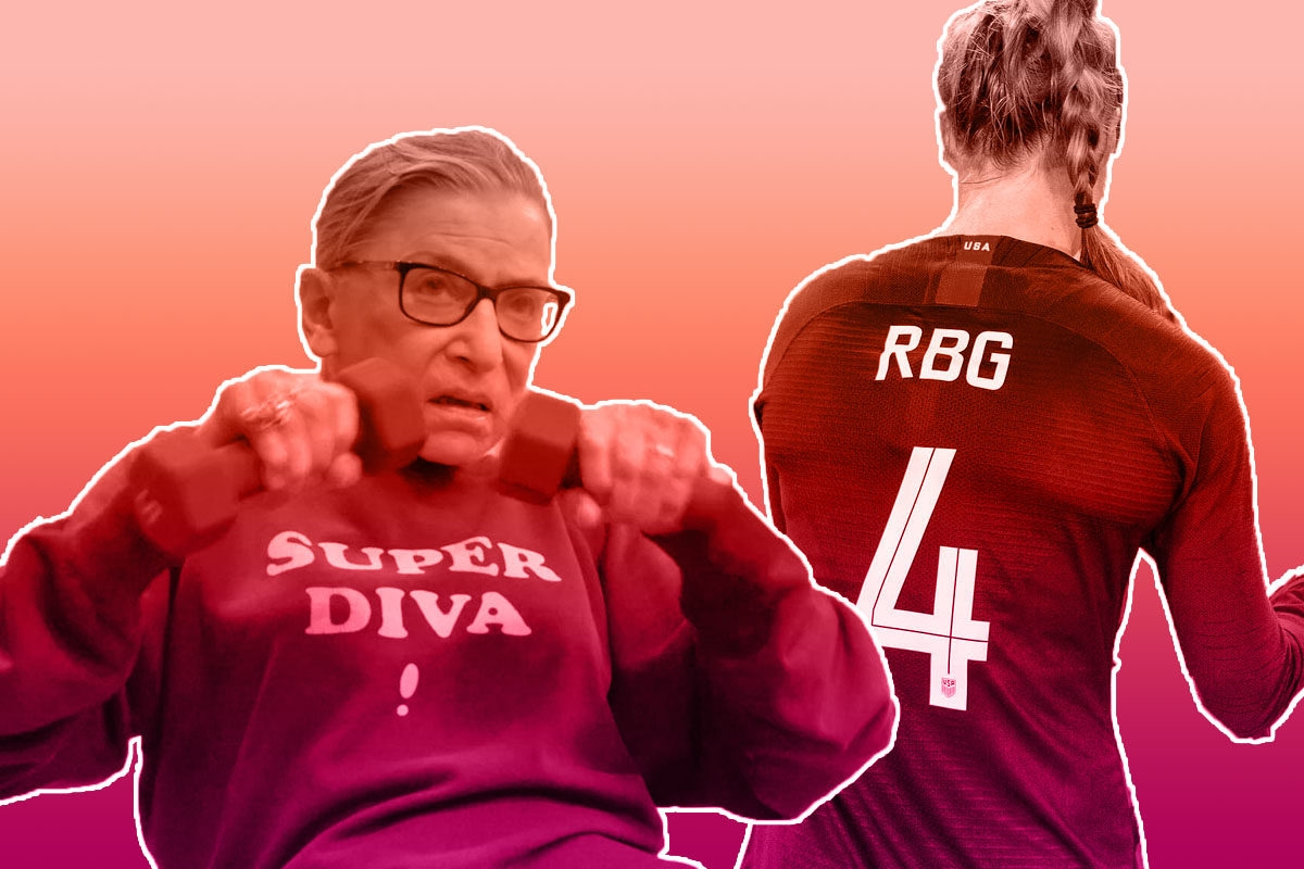 RBG USWNT jersey
