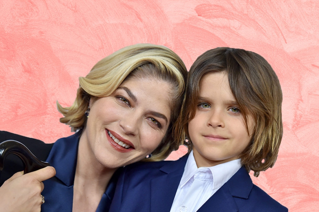 Jewish Mom Selma Blair Enlists Her Son to Shave Her Head