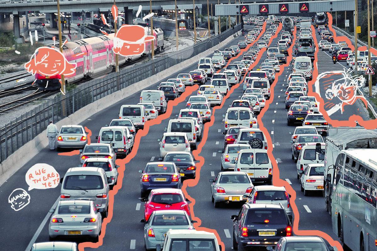 Tel-Aviv Rush hour.