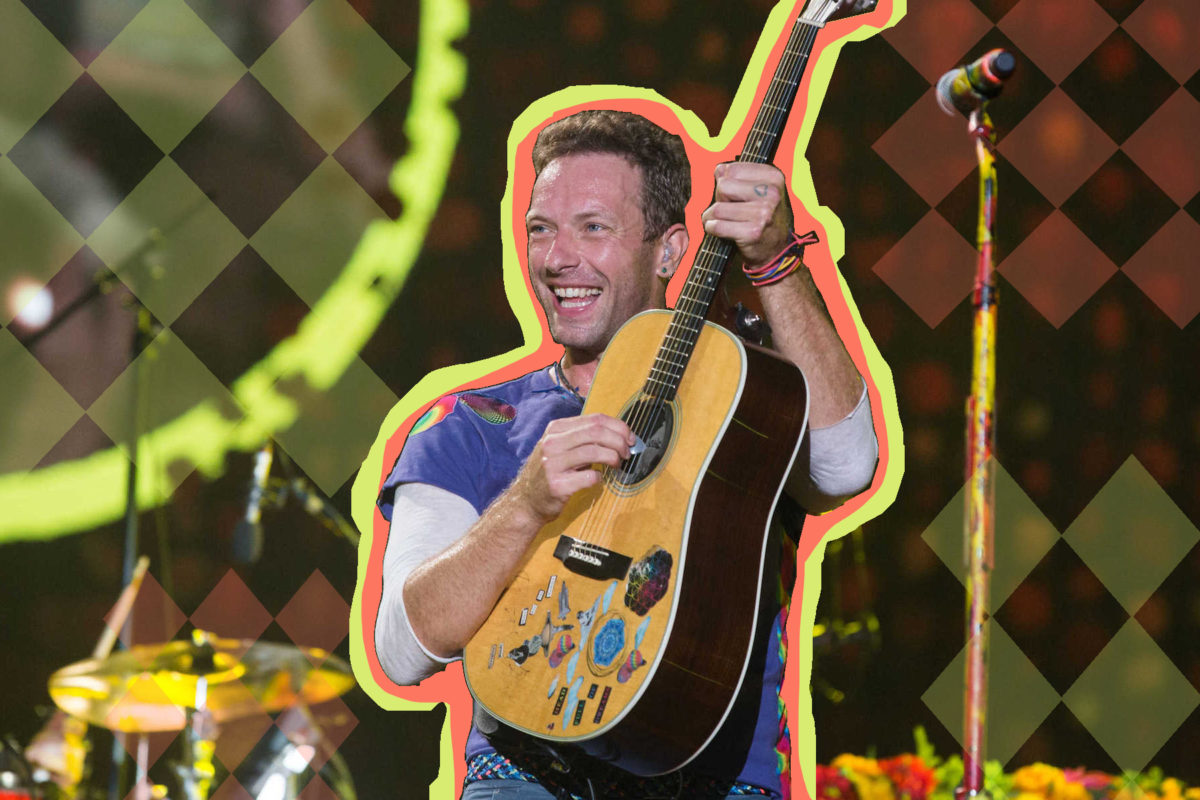 Coldplay's Chris Martin Performing