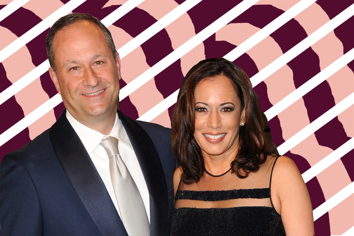 Douglas Emhoff and Kamala Harris