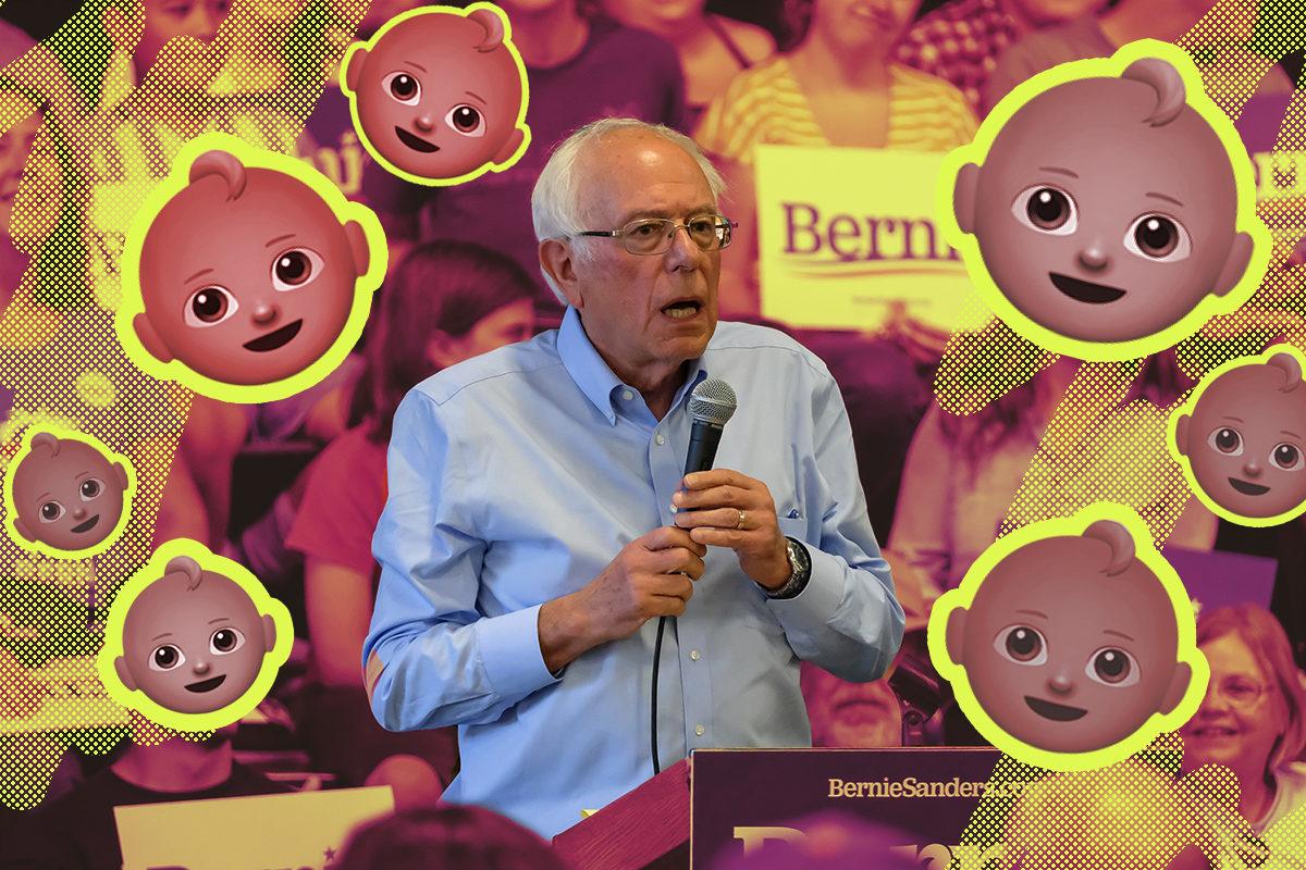 Democratic presidential candidate, Bernie Sanders discusses