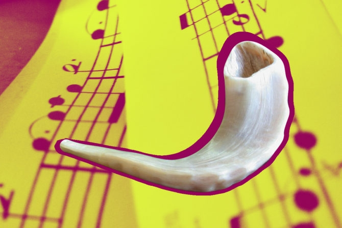 In My Boisterous Jewish Family, I Struggle to Be Heard. And Then I Blew the Shofar.