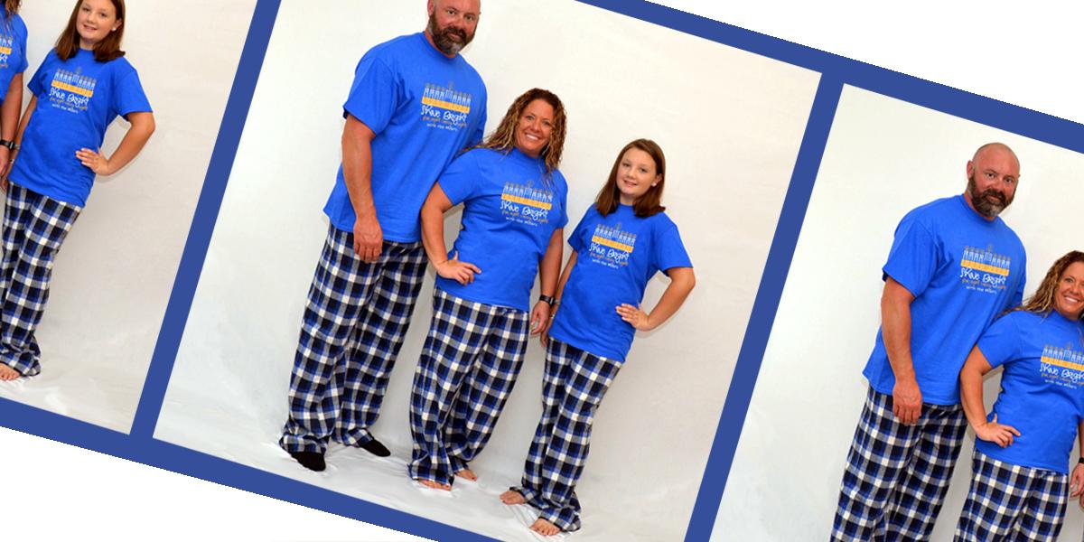 Family Pajamas Good Times Roll Matching Hanukkah Pajamas Various Sizes