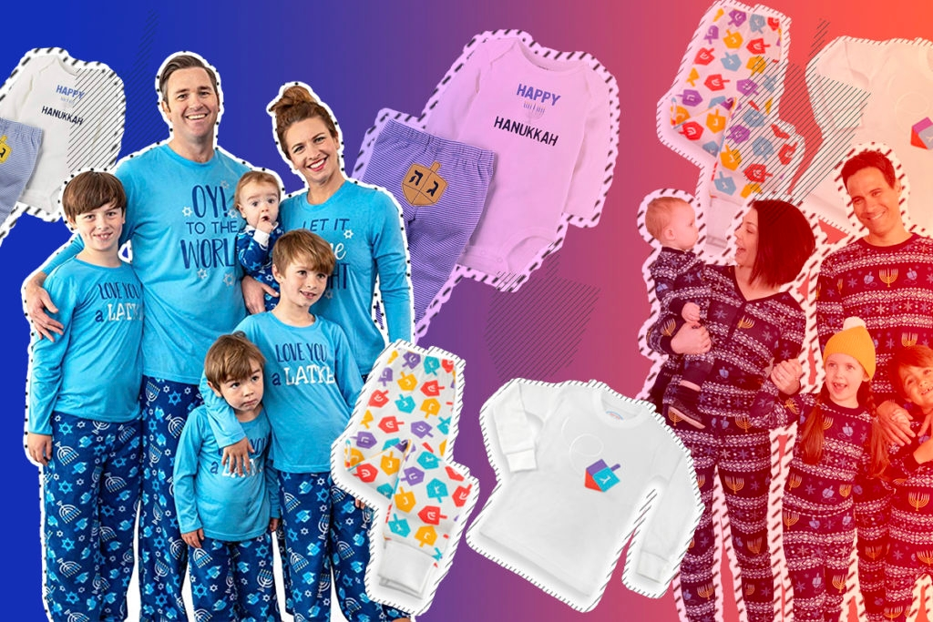 Hanukkah Pajamas for the Entire Family