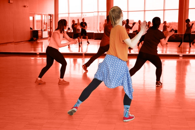 Zumba Helped Me Reclaim the Room Where My Brother's Funeral Took Place