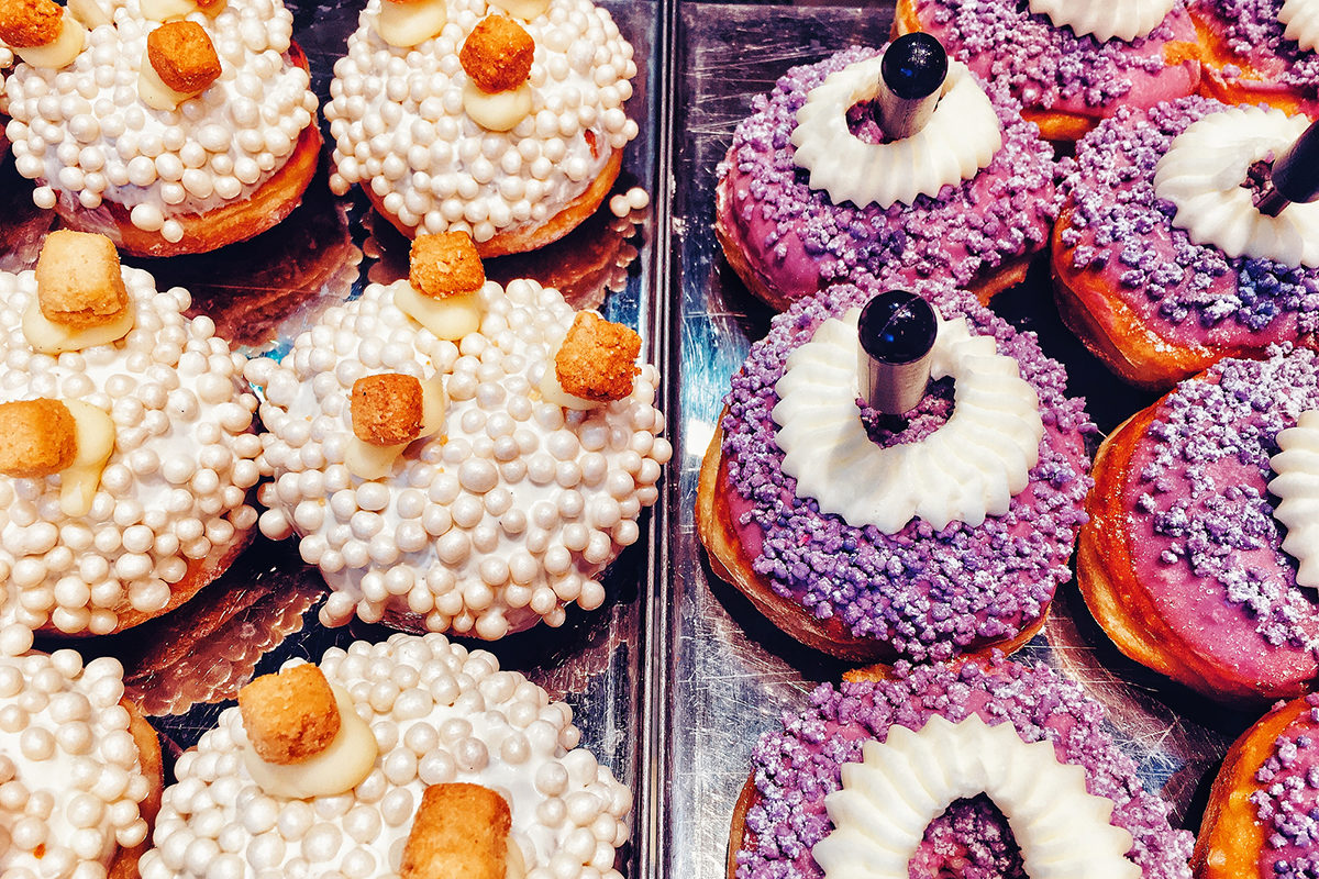 Sufganiah – traditional Jewish bakery