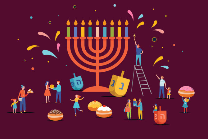 Eight Fun Ways to Incorporate Jewish Values Into Your Family's Hanukkah