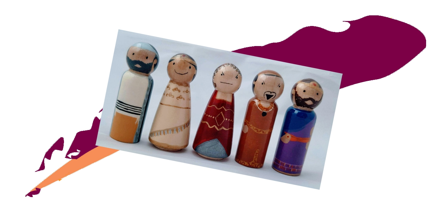 Purim dolls